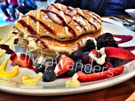 Delicious pancakes at Wildberry Pancakes & Cafe
